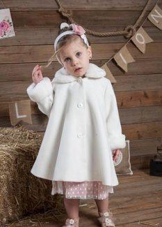 παιδικό παλτό περιστέρι