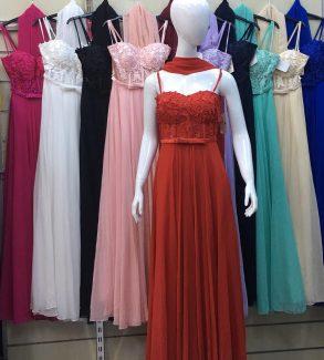 βραδινά φορέματα γαλάτσι