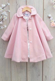 παλτό ρόζ κοριτσίστικο