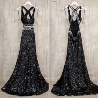 επίσημο μαύρο φόρεμα μαυρη τουαλέτα βραδινή τουαλέτα μαύρη επίσημο μαύρο φόρεμα