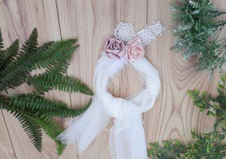 κορδέλα βάπτισης κορδέλα μαλλιών για βάπτιση βπτιστική κορδέλα για κορίτσι περιστέρι καπέλο βάπτισης μπαντάνα βάπτισης