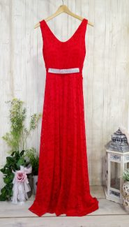 κοκκινο φορεμα μαξι κόκκινο δαντελένιο φόρεμα δραδινό κόκκινο μάξι γαμου φόρεμα βάπτισης κόκκινο