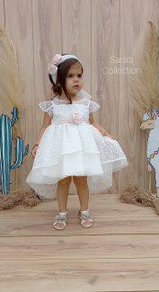 βαπτιστικό φόρεμα τουλινο βαπτιστικά πουα